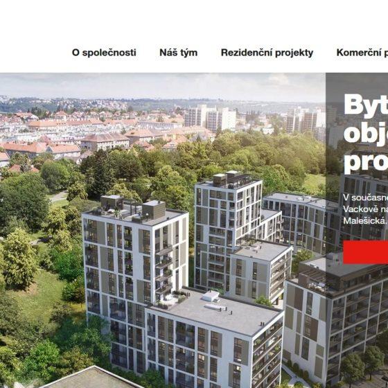Metrostav Development web